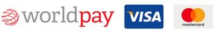 Payment Options - Worldpay, Visa, Mastercard